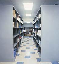 Pacific Shelving Closed Units