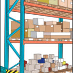 pallet rack for large items