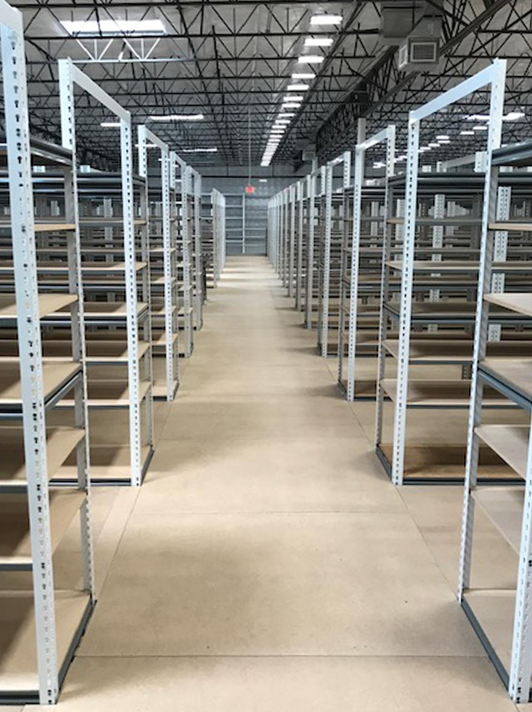 Industrial Metal Shelving Units - WPSS