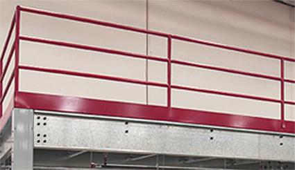 IBC compliant guardrail