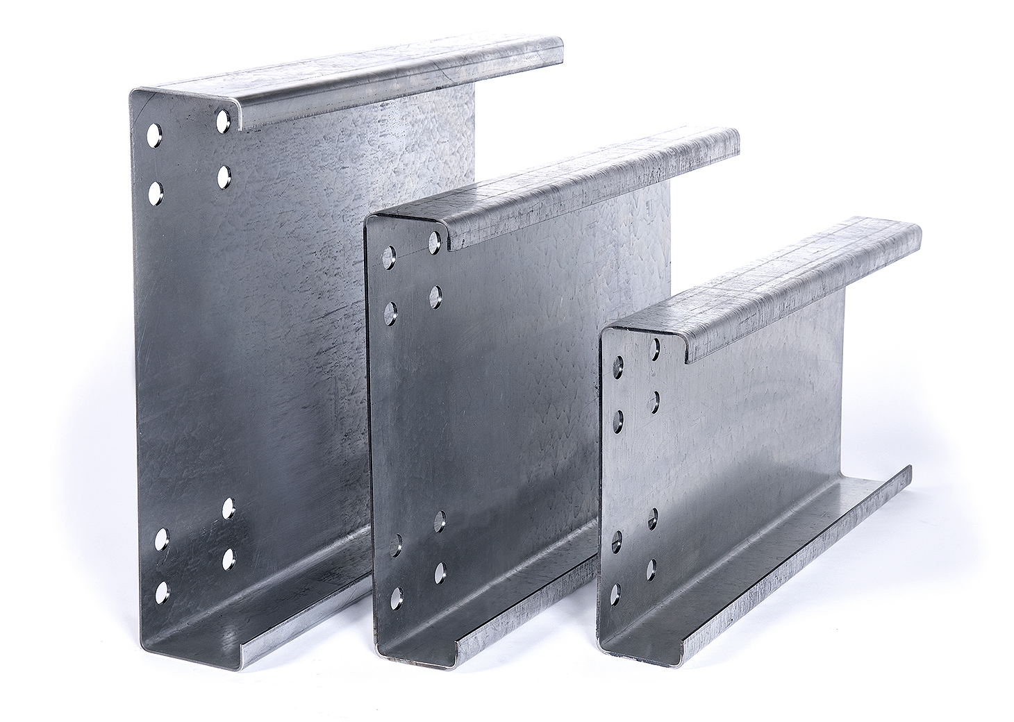 High strength steel channel beam