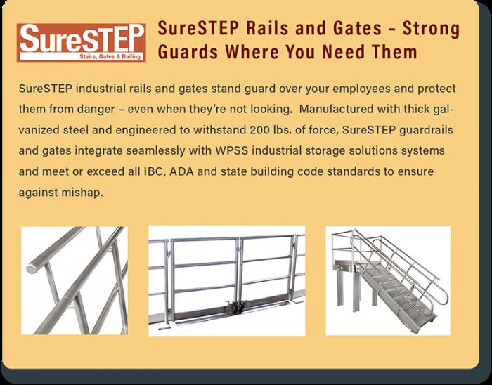 Surestep Rails And Gates