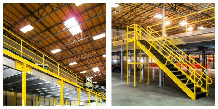Stair systems and work platforms