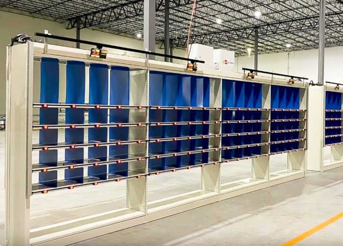 Accu-Wall shelving systems